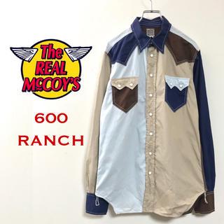 ザリアルマッコイズ(THE REAL McCOY'S)のREAL McCOY OVERALLS 600RANCH ウエスタンシャツ(シャツ)