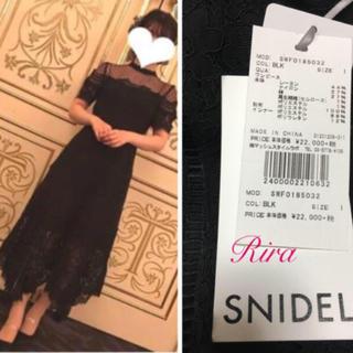 snidel - 新品🌷スナイデル 総レースドレス