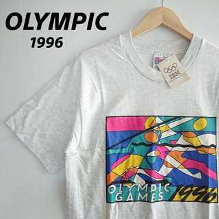 ヘインズ(Hanes)の695 希少 新品 1996年 アトランタオリンピック Tシャツ OLYMPIC(Tシャツ/カットソー(半袖/袖なし))