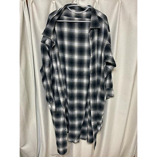 JEANASIS - JEANASISのチェックロングシャツ