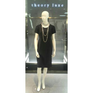 Theory luxe - ☆美品 theory luxe ワンピース ネイビー 38☆