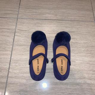 petit main - petit main 新品未使用19センチ靴