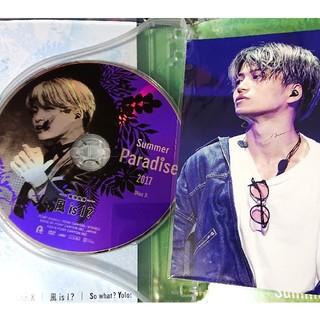サマパラ 2017 菊池風磨 DVDディスク+ポストカード SixTONES