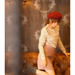 NICE CLAUP - lissi Boutique ♡新品リージーブティックコーデュロイスカート♡