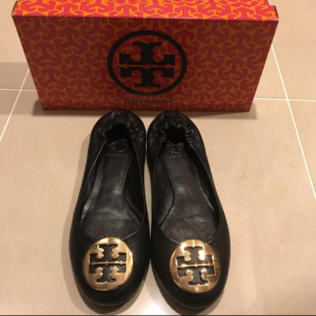 Tory Burch(トリーバーチ)のトリーバーチ サイズ6 バレーシューズ フラットシューズ レディースの靴/シューズ(バレエシューズ)の商品写真