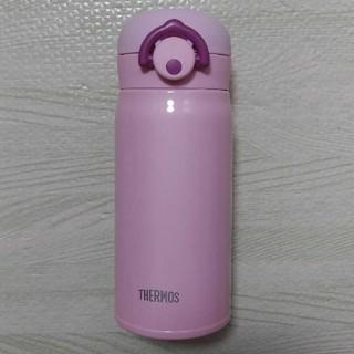 サーモス(THERMOS)のサーモス 水筒  真空断熱ケータイマグ 350ml  ステンレス ピンク 新品(水筒)