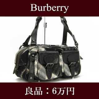 BURBERRY - 【限界価格・送料無料・良品】バーバリー・ショルダーバッグ(E074)