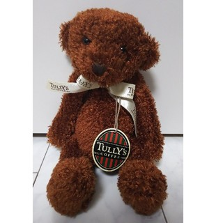 タリーズコーヒー(TULLY'S COFFEE)の【新品未使用】タリーズ クマ ぬいぐるみ タグ付き(ぬいぐるみ)