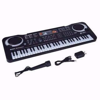 キーボード 61キー キッズピアノ デジタルキーボード 多機能 音楽キーボー ¥(キーボード/シンセサイザー)