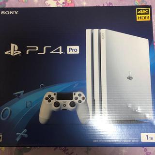 プレイステーション4(PlayStation4)のPlayStation4 Pro ホワイト(家庭用ゲーム機本体)