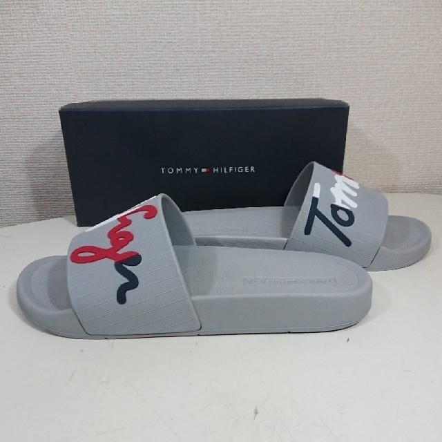 TOMMY HILFIGER(トミーヒルフィガー)の【26cm】トミーヒルフィガー/スポーツサンダル/ENZO/グレー メンズの靴/シューズ(サンダル)の商品写真