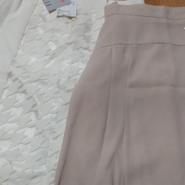 ELLE(エル)のELLE 春夏 スカート二点セット レディースのスカート(ひざ丈スカート)の商品写真