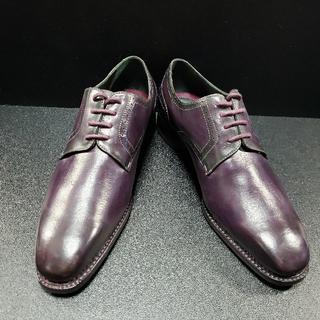 ゼノービ(Zenobi) イタリア製革靴 濃紫 41(ドレス/ビジネス)