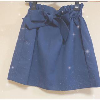 evelyn - リボン台形スカート