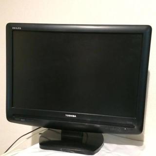 トウシバ(東芝)のTOSHIBA REGZA 液晶テレビ 19インチ 2008年製 19型 黒(テレビ)