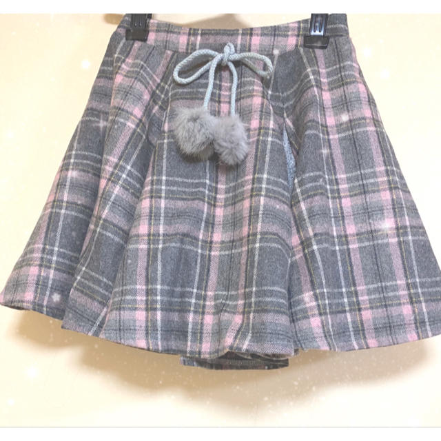 Swankiss(スワンキス)のスワンキスチェック柄スカート レディースのスカート(ミニスカート)の商品写真