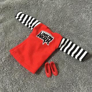 【新品】赤いチュニックと赤靴セット アウトフィット ネオブライスやリカちゃんに