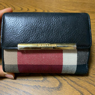 BURBERRY BLUE LABEL - BLUE LABEL CRESTBRIDGE 財布