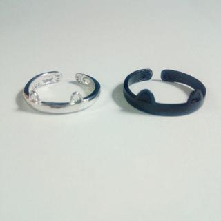白猫黒猫 リングセット(リング(指輪))