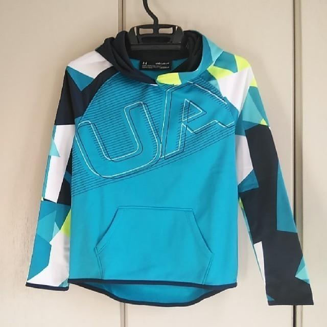 UNDER ARMOUR(アンダーアーマー)の新品!アンダーアーマー トレーニングトップ140 キッズ/ベビー/マタニティのキッズ服女の子用(90cm~)(Tシャツ/カットソー)の商品写真