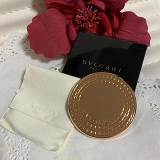 ブルガリ(BVLGARI)の未使用❣️非売品❣️ブルガリ コンパクトミラー 袋と箱あり(ミラー)