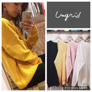 Ungrid - Ungrid**ワッフルルーズニット