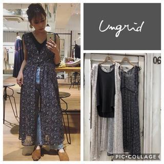 Ungrid - Ungrid**フラワーノースリロングガウン