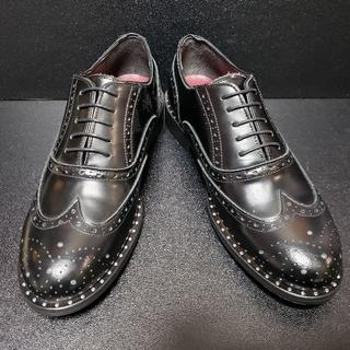 ダーマ(Dama ItalianDesign)イタリア製革靴 42 黒