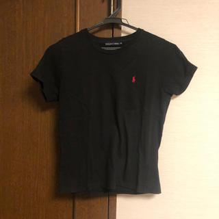 ラルフローレン(Ralph Lauren)の1シーズン使用 ラルフローレン Tシャツ 黒(Tシャツ(半袖/袖なし))