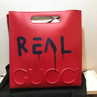 Gucci - GUCCI ゴースト 新品 バッグ トート トラブルアンドリュー 赤 グッチ
