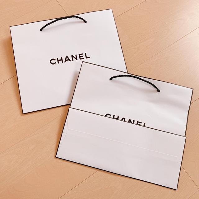 CHANEL(シャネル)のCHANEL シャネル 紙袋 2枚組 レディースのバッグ(ショップ袋)の商品写真