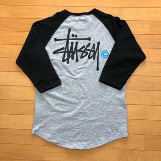 STUSSY - STUSSY 七分袖Tシャツ 着丈長め Mサイズ
