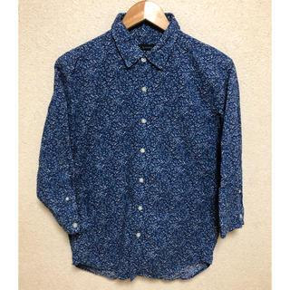 RAGEBLUE - RAGEBLUE レイジブルー 花柄 7分袖 シャツ M