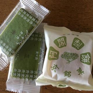 京銘菓 阿闍梨餅 茶の菓
