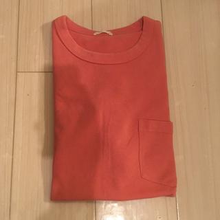 GU - GU ポケットTシャツ 厚手コットン 一枚