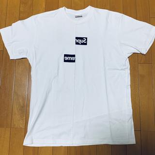 Supreme - Supreme COMMEdesGARÇONS boxlogo XL Tシャツ
