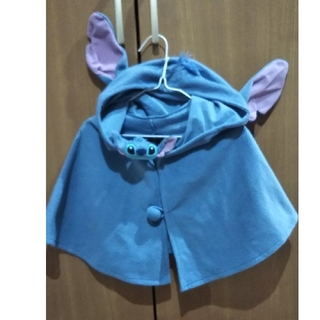 Disney - stitch  KIDS フリースポンチョ✩.*˚
