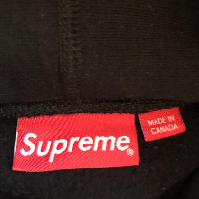 Supreme(シュプリーム)のコーデュロイ ロゴ スウェット パーカー シュプリーム メンズのトップス(パーカー)の商品写真