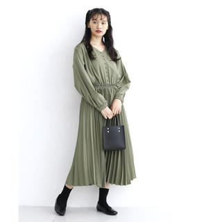 merlot - プリーツスカート