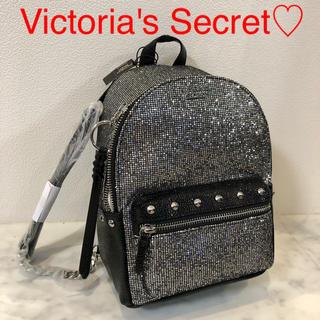 Victoria's Secret - 新品 シルバー グリッター ミニリュック バックパック VS