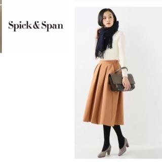 Spick and Span - スピック&スパン☆フレアスカート☆オレンジ ブラウン