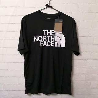 ザノースフェイス(THE NORTH FACE)の【新品】THE NORTH FACE FLEX II BIG LOGO T 黒(ウェア)