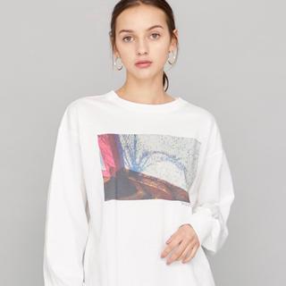 ステュディオス(STUDIOUS)のSTUDIOUS オリジナルフォトロンT 新品未使用(Tシャツ(長袖/七分))
