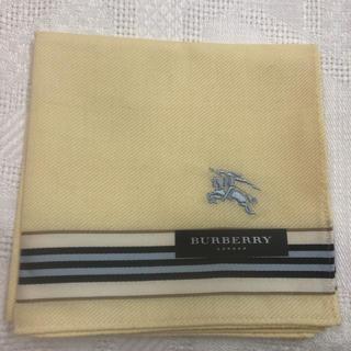 バーバリー(BURBERRY)のバーバリー ロンドン ハンカチ メンズ BURBERRY LONDON 春色(ハンカチ/ポケットチーフ)