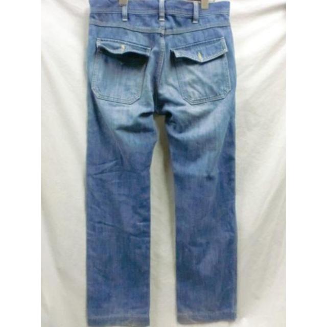 UNITED ARROWS(ユナイテッドアローズ)のユナイテッドアローズBLUE LABELブッシュパンツ☆M メンズのパンツ(デニム/ジーンズ)の商品写真