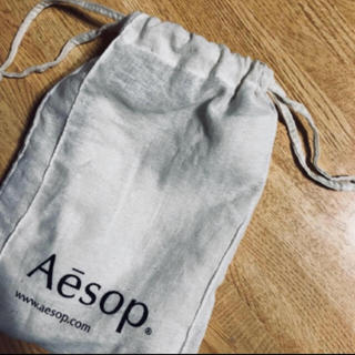 イソップ(Aesop)のAesop 巾着(小)(ショップ袋)