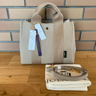 Sonny Label - VIOLAd'ORO ヴィオラドーロ GONO TOTE  SANDBEIGE