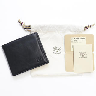 IL BISONTE - 新品 イルビゾンテ 二つ折り財布 折財布 小銭入れ付き コンパクト ウォレット