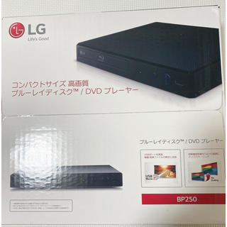 LG Electronics - 新品未使用  DVDプレイヤー  ブルーレイ BP250  コンパクトサイズ