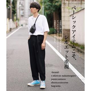 サンシー(SUNSEA)のSUNSEA 14ss nice material pants(スラックス)